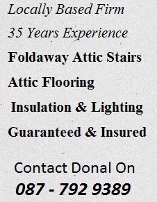 Attic Stairs in Cork